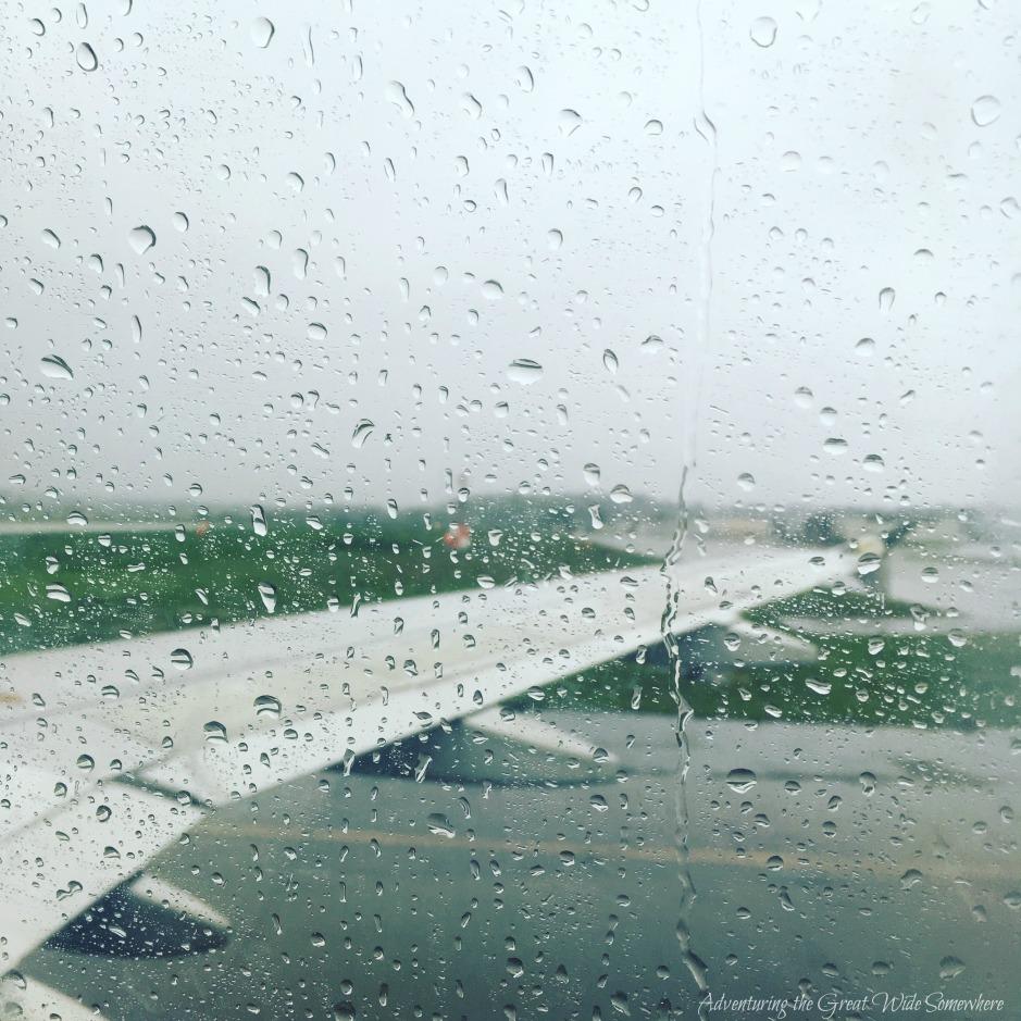Rainy Arrival at SeaTac Airport