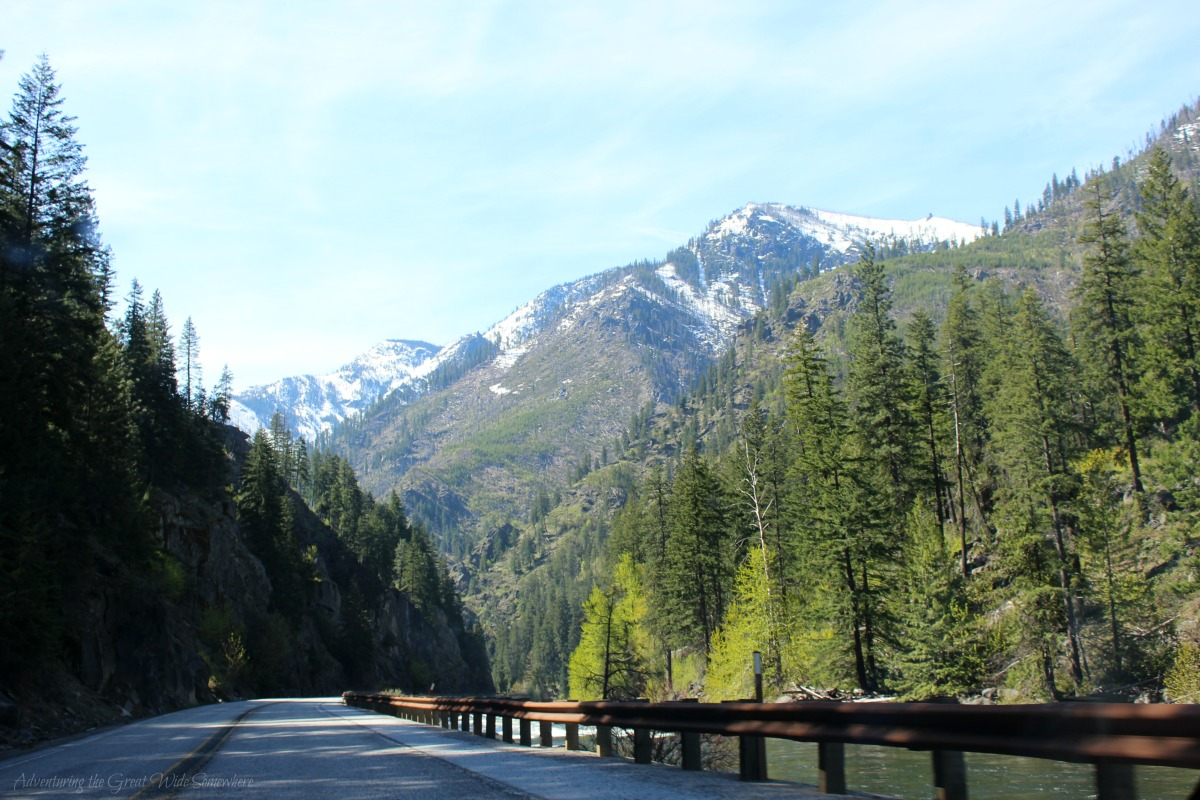 Gorgeous Mountain Views on the Drive to Leavenworth, WA.jpg