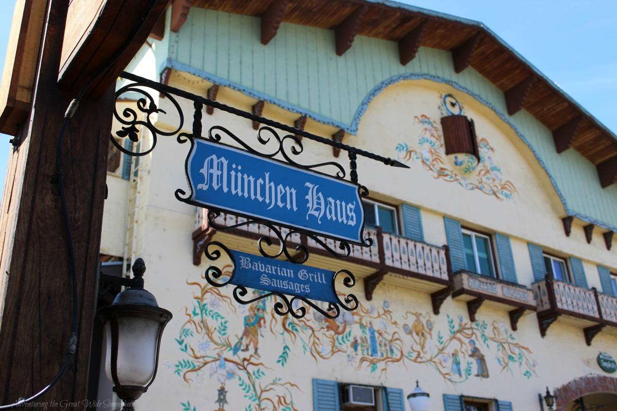 Munchen Haus, Bavarian Grill Sausages in Leavenworth, WA