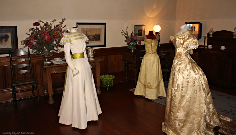Party Gowns, Similar to What Might Have Been Worn to a Dance at Craigdarroch