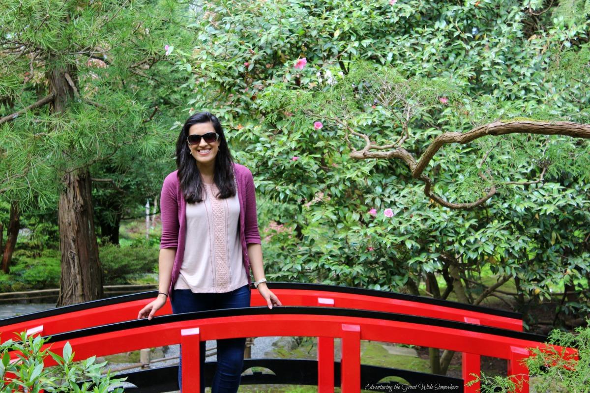 Princess Nadya at the Butchart Gardens