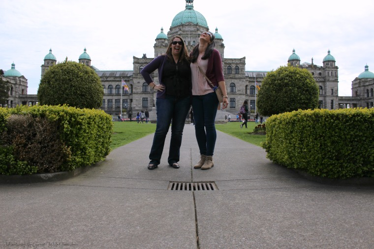Self Timer Fail in Front of the British Columbia Harbor Buildings, Victoria B.C..jpg