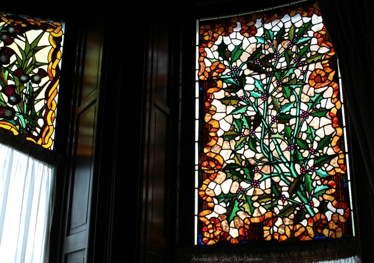 Stained Glass in the Library of Craigdarroch Castle