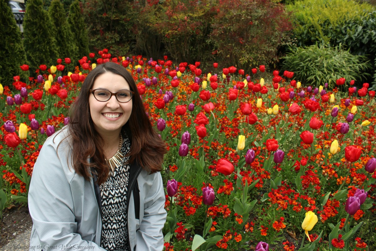 The Author at the Fairmont Empress Spring Gardens