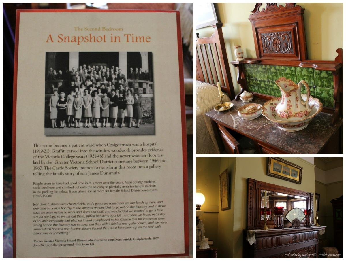 The History of Craigdarroch's Second Bedroom