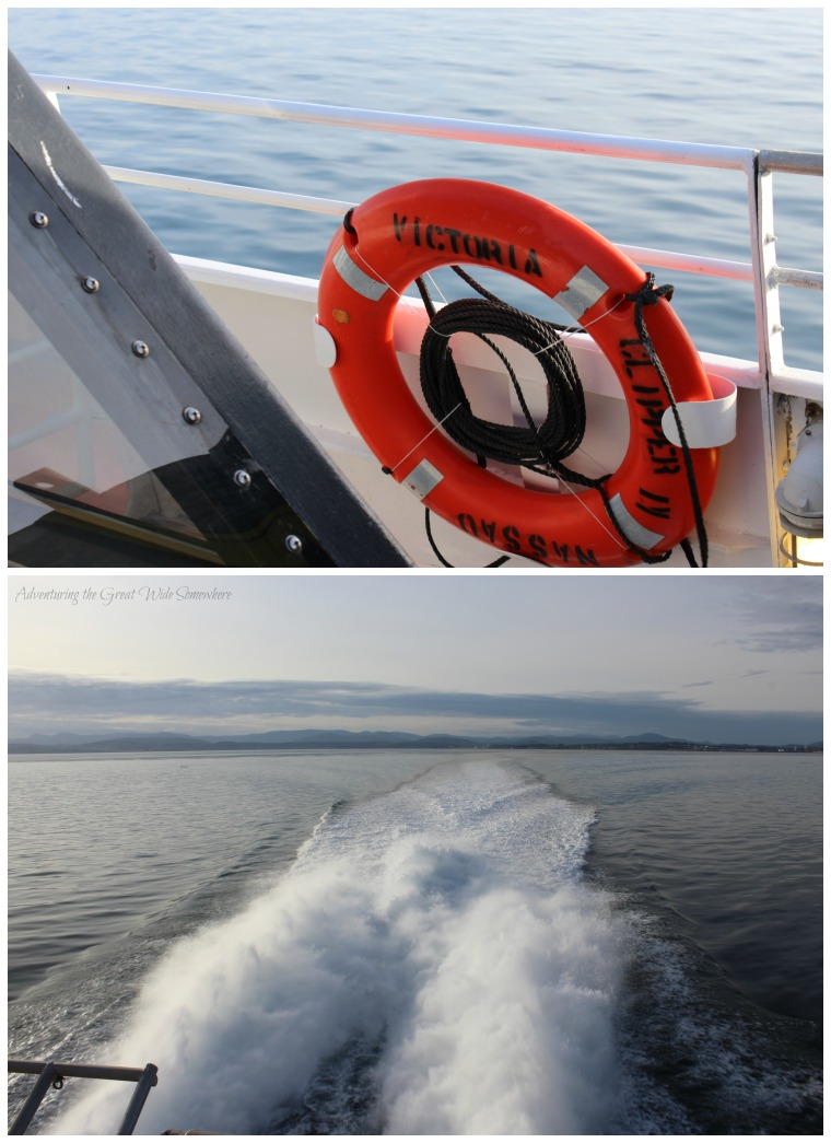 The Journey from Victoria to Seattle, Aboard the Victoria Clipper