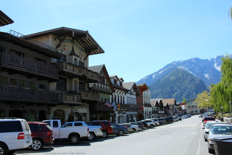 The Main Road in Washington State's Downtown Leavenworth