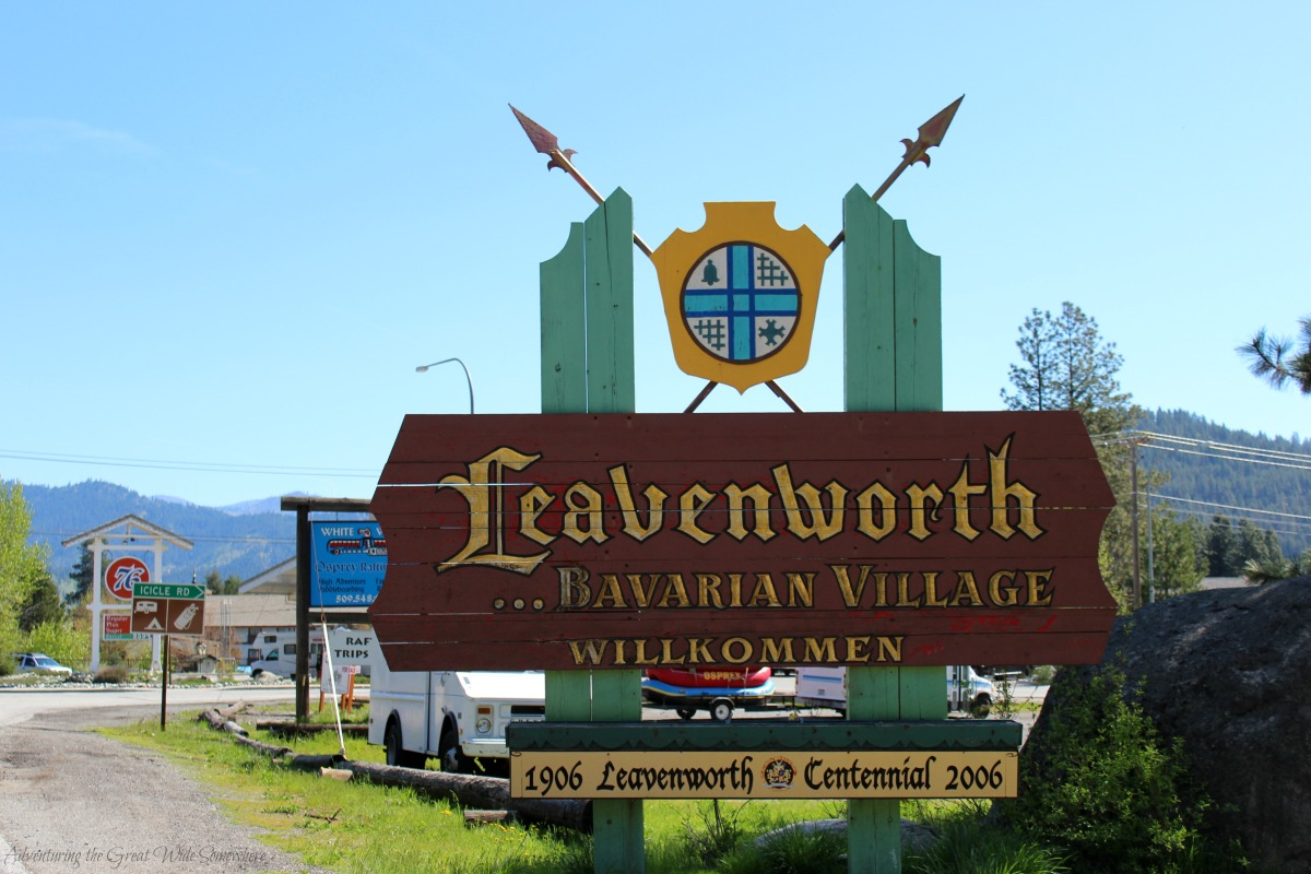 Wilkommen to Leavenworth, WA