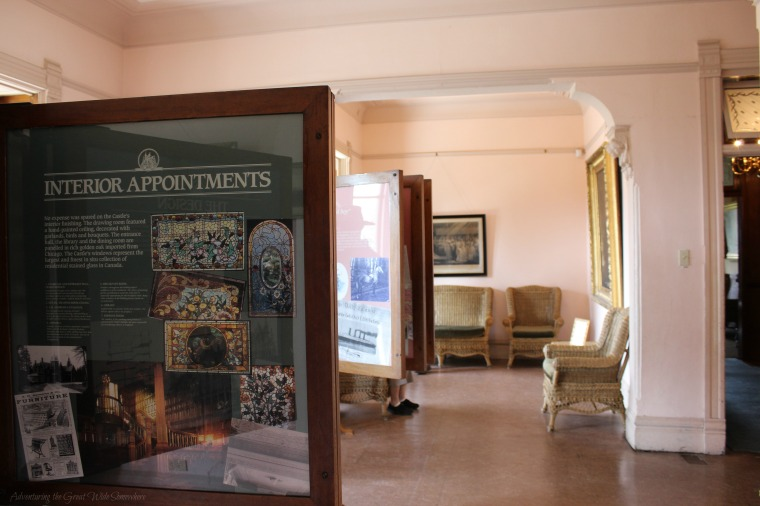 A Room Dedicated to Showcasing the History of Craigdarroch Castle