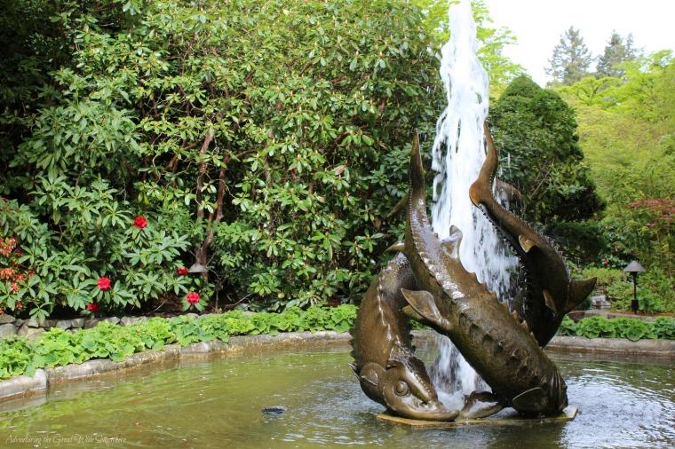 Sturgeon Fountain at The Butchart Gardens in Victoria, B.C..jpg