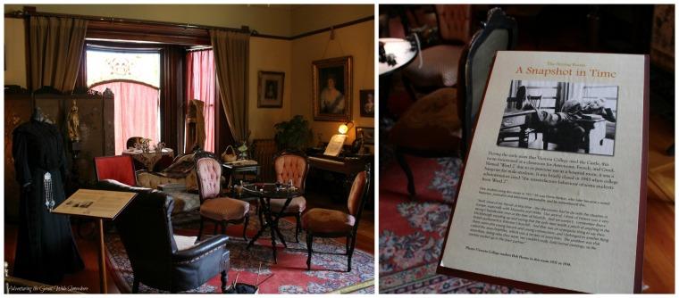 The Sitting Room at Craigdarroch Looks Like Professor Trelawney's Classroom