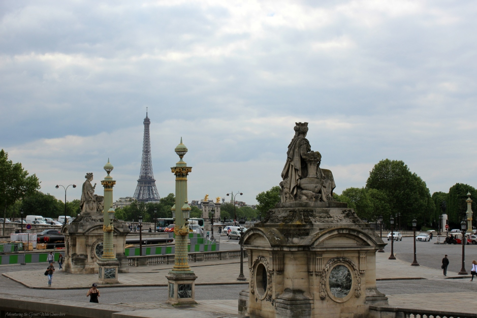 Eiffel Tower, Seen from the Exit of the Tuileries