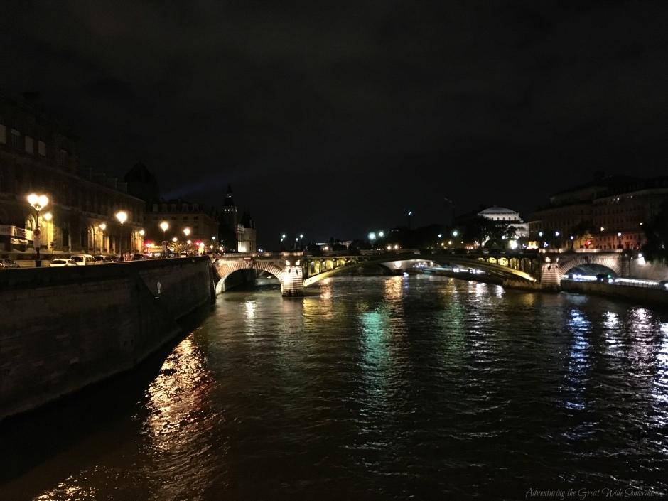 The Seine River By Night, Ile de la Cite